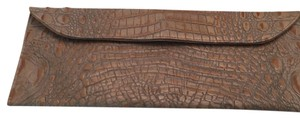 Viva bags of california Light Brown Clutch