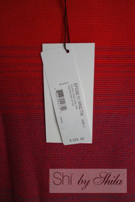 Lacoste short dress Multi Color Color Winter Color Red Red on Tradesy