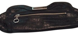 Maxx New York Black And Hot Pick Clutch