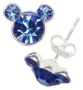Disney DISNEY COUTURE Sterling Silver Mickey Pendant/Stud Set