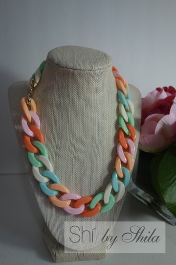 """Other """"Elora"""" Multi Color Necklace"""