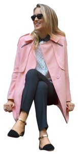 Goodnight Macaroon Tweed Parka Longline Trench Coat