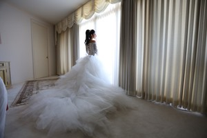 Ines Di Santo Custom Made For Me Wedding Dress