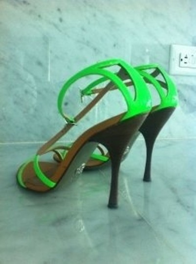 Dolce&Gabbana Neon Green Sandals