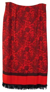 dressbarn Skirt Red