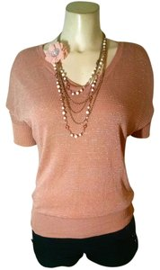 Gap Loose Fit Size X-small Top pink