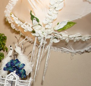 Wedding Bridal Shower Umbrella Handmade