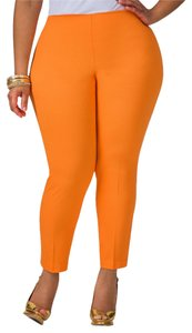 Ashley Stewart Trouser Pants ORANGE