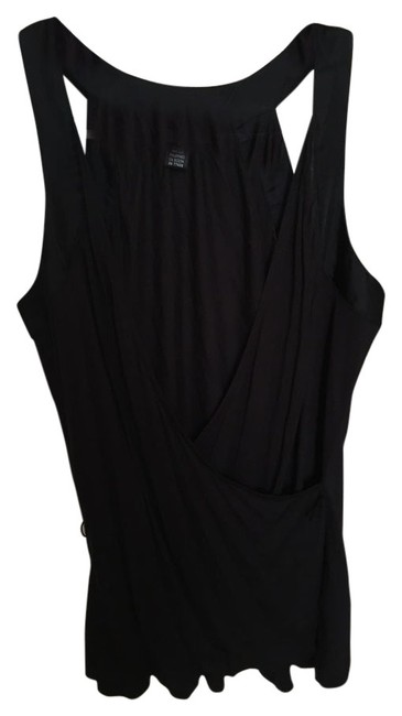 Club Monaco Silk Top Black