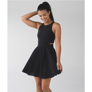Lululemon short dress Blac 10 Nwt New Cool on Tradesy