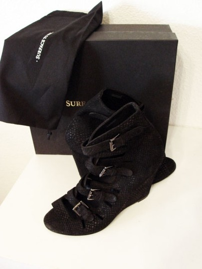 Surface to Air Black Boots