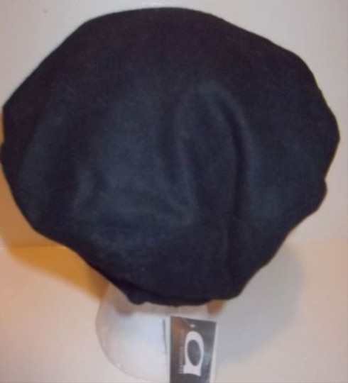 Other Gatsby Newsboy Conductor Cabbie Cap Hat Black Flower By August Accessories