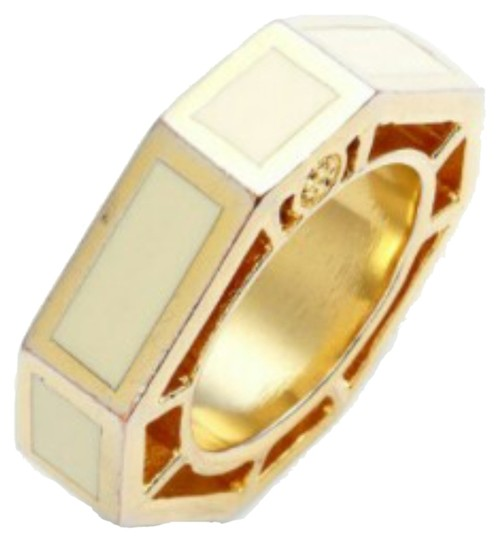 Preload https://item5.tradesy.com/images/tory-burch-white-and-gold-ryan-enamel-octagon-ring-5800489-0-0.jpg?width=440&height=440