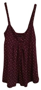 American Eagle Outfitters Top Maroon