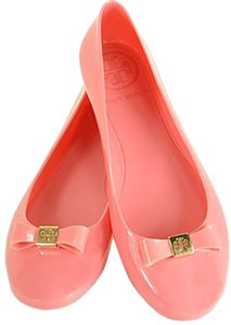 Tory Burch Jelly Bow Ballet Pink Flats