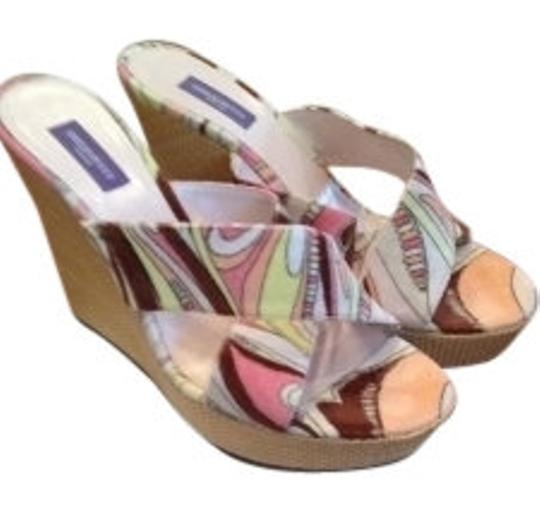 Emilio Pucci Multi color Wedges
