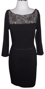 Erin Fetherston Lace Trim 34 Sleeve Ponte Knit Dress