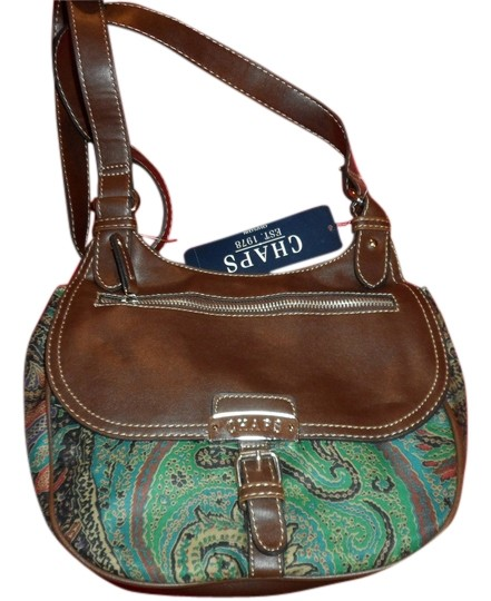 Preload https://item4.tradesy.com/images/chaps-valerie-gem-paisley-brown-faux-leather-navy-teal-beige-purple-fusia-multi-colored-trim-cloth-c-5803228-0-0.jpg?width=440&height=440