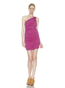 Rachel Pally One Shoulder Ruched Dress