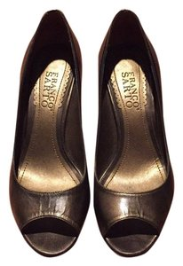 Franco Sarto Bronze / gold Pumps