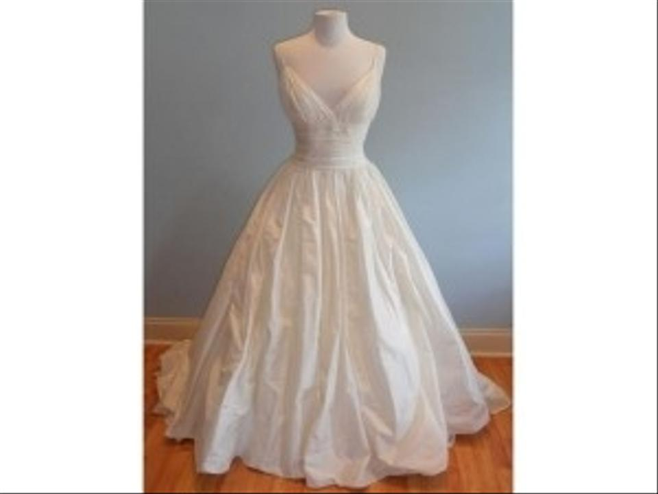 Priscilla Of Boston Ivory Silk Vineyard Collection Sophie Traditional Wedding Dress Size Other