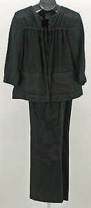Jones New York Jones York Black Linen 30wx 30l Pant Suit B352