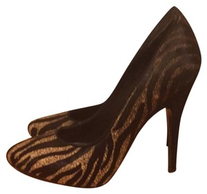 Sigerson Morrison Black and grey zebra Pumps