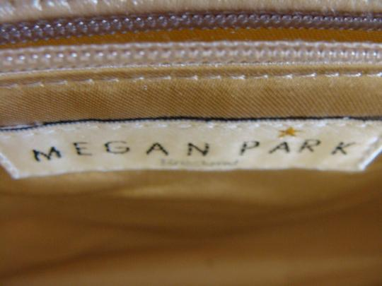 Megan Park England Evening Gold with beaded accent Clutch