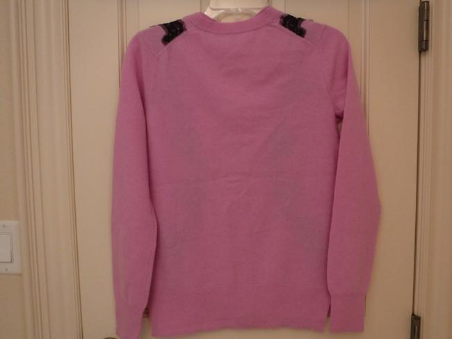 Juicy Couture Wool Cashmere Embellished Lace Cardigan Image 1