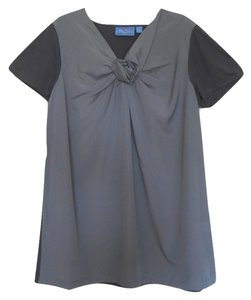 Simply Vera Vera Wang Top Two Tone Grey