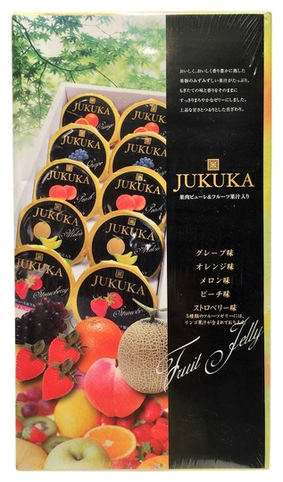 Other Jukuka Japanese Fruit Jelly-10 pc. Gift Set ; Strawberry, Melon, Peach, Grape, Orange [ Roxanne Anjou Closet ]