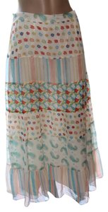 Boston Proper Skirt pastels
