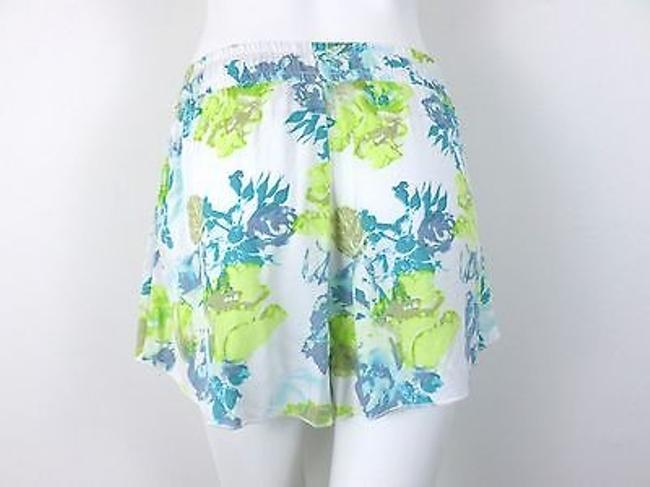 Jack by BB Dakota Urban Outfitters Floral Shorts White, Green, Blue Image 2