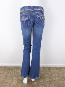 Miss Me Wash Rhinestone Bling Pants X Boot Cut Jeans