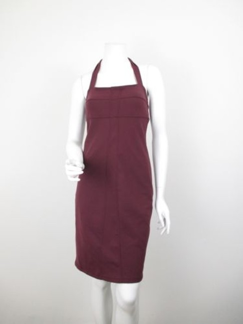 Preload https://img-static.tradesy.com/item/5816509/athleta-maroon-sizzle-stretch-yoga-fitted-halter-dress-0-0-650-650.jpg