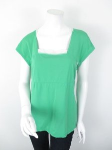 Lululemon Lululemon Green Wet Dry Warm Stretch Yoga Athletic Ss Shirt Top