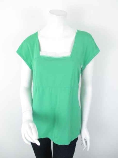 Preload https://img-static.tradesy.com/item/5816602/lululemon-green-wet-dry-warm-stretch-yoga-athletic-ss-shirt-top-0-0-650-650.jpg
