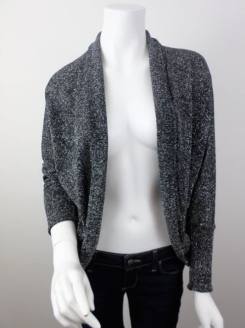 Splendid Anthropologie Shimmer Metallic Cardigan Sweater