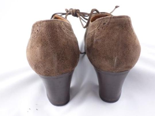 Ralph Lauren Made In Italy Vintage Suede Leather Brown Boots