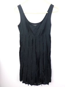 Club Monaco short dress Black 100 Cotton Pieced Layered Tank Top 00 on Tradesy