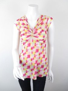 Sweet Pea by Stacy Frati Anthropologie Top Pink