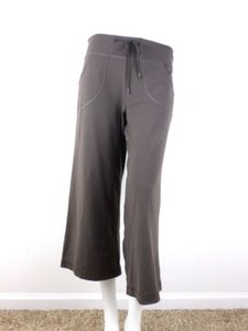 Lululemon Lululemon Brown Stretch Crop Length Yoga Pants Athletic Capris Regular
