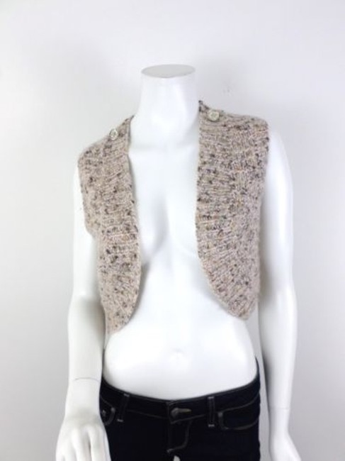 Rebecca Minkoff Taylor Mohair Blend Crop Shrug Shawl Cardigan Sweater
