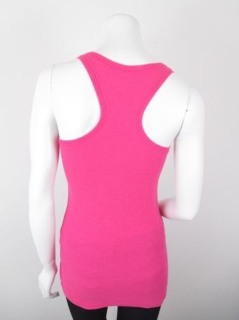 Victoria's Secret Live In Waffle Racerback Top Pink