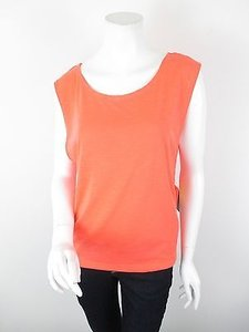 Lucy Activewear Daily Practice Coral Yoga Tank Top Shirt Sizes S