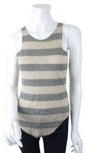 Forever 21 21 Gray Top Beige, Gray