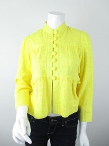 Elevenses Anthropologie Yellow Jacket