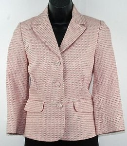 Old Navy Old Navy Cute Pink Cream Three Button Flat Peplum Blazer B194