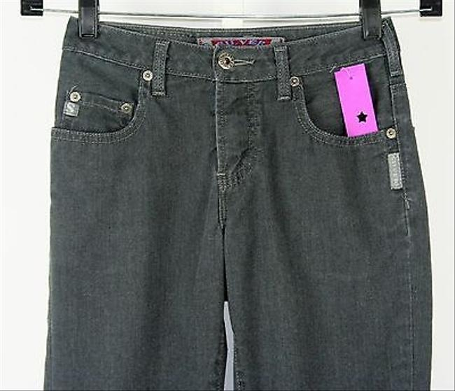Silver Jeans Co. 25 X 23 Charcoal Capri Pants B241 Capri/Cropped Denim