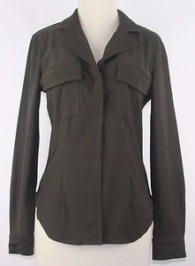 A.B.S. by Allen Schwartz Abs Olive Velcro Closure Poly Blend Casual Blazer B145